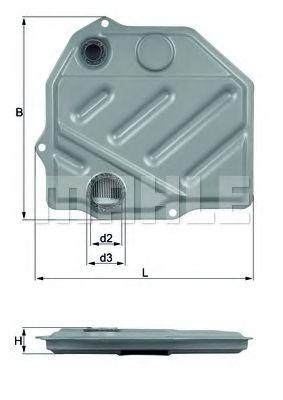 Фільтр гідравлічний КПП KNECHT HX46