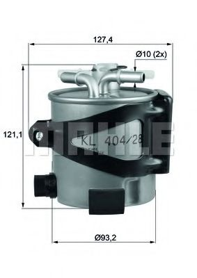 Фільтр палива KNECHT KLH4425