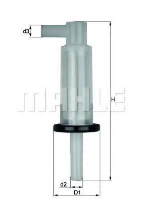Фільтр палива  арт. KL33OF