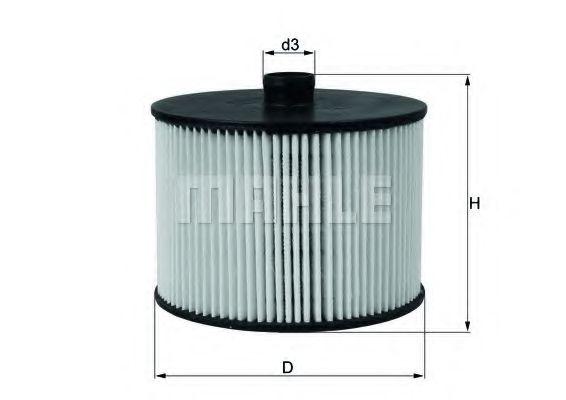 Фильтр топливный 2.0HDi Scudo/Expert 07-/Citroen C4/C5 05-  арт. KX201D