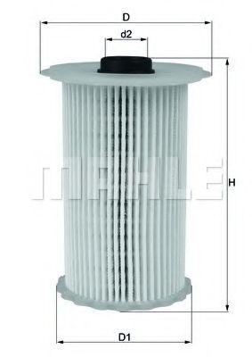 Топливный фильтр KNECHT KX229D