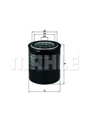 Фильтр масла Almera/Primera/Sunny 1.4/1.6/1.8 86-  арт. OC1091