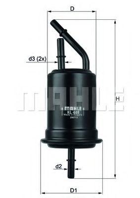 Фільтр палива KNECHT KL488