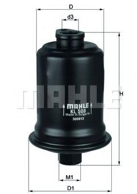 Топливный фильтр  арт. KL508