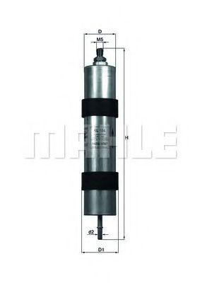Топливный фильтр  арт. KL104