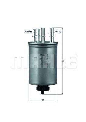 Топливный фильтр  арт. KL451