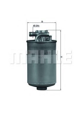 =KL152 Фильтр топлива AUDI A4/A6 2.5TDI 7/97- KNECHT KL154