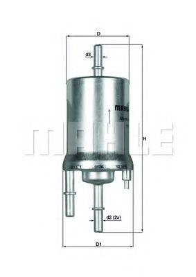 Фільтр палива KNECHT KL1561