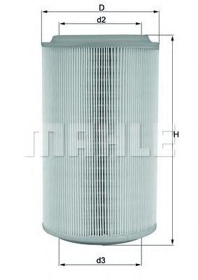 Воздушный фильтр  арт. LX913