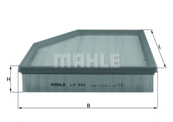 Фильтр воздушный BMW 5 (E60) / 6 (E63)  арт. LX944