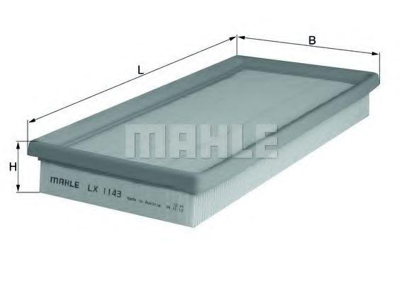 Воздушный фильтр  арт. LX1143