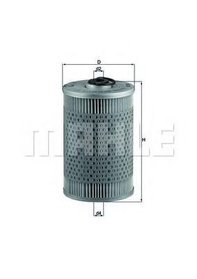 Фільтр палива KNECHT KX36D