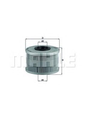 Топливный фильтр KNECHT KX79D