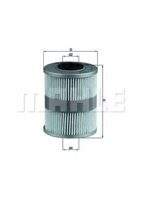 Топливный фильтр KNECHT KX206D