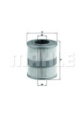 Топливный фильтр KNECHT KX218D