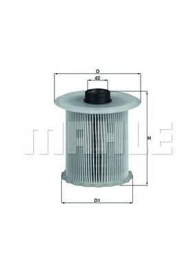 Топливный фильтр KNECHT KX81D