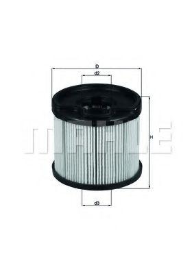 Топливный фильтр KNECHT KX87D