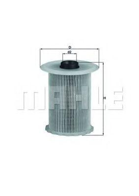 Топливный фильтр KNECHT KX183D
