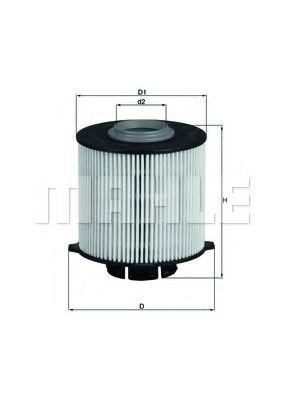 Фильтр топливный Astra J/Insignia/Meriva/Zafira 1.3/1.6/2.0CDTi 10-  арт. KX265D