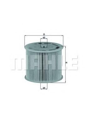 Топливный фильтр KNECHT KX85D