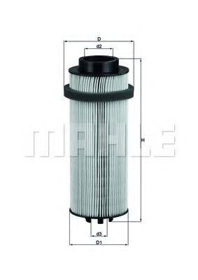 Фільтр палива KNECHT KX261D