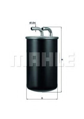 Фільтр палива KNECHT KL737