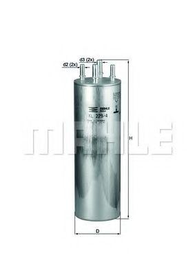 Фільтр палива KNECHT KL2294