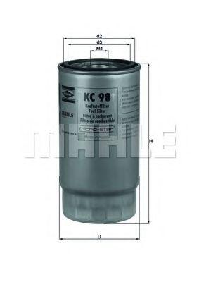 Фильтры топливные Фильтр топл. BMW (пр-во Knecht-Mahle)                                                                BOSCH арт. KC98
