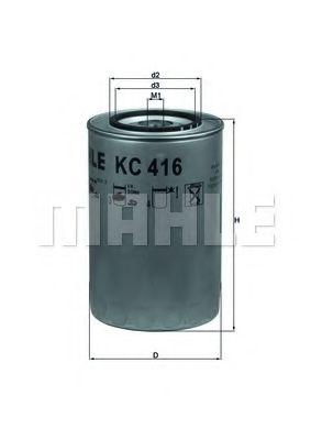 Фільтр палива KNECHT KC416