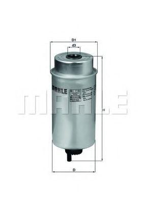 Фільтр палива KNECHT KC116