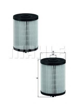 Топливный фильтр KNECHT KX200DS