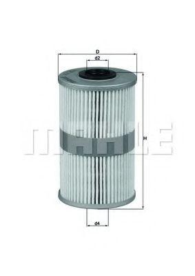 Топливный фильтр KNECHT KX204D
