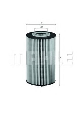 Фильтр масляный MB Vario-Atego OM 904  арт. OX161D