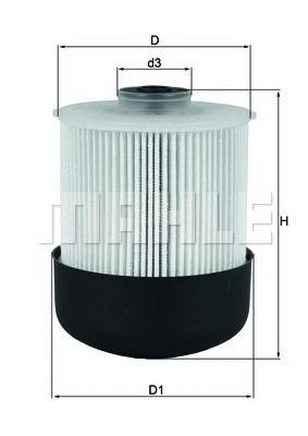 Топливный фильтр KNECHT KX33826D
