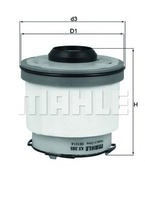 Топливный фильтр  арт. KX385D