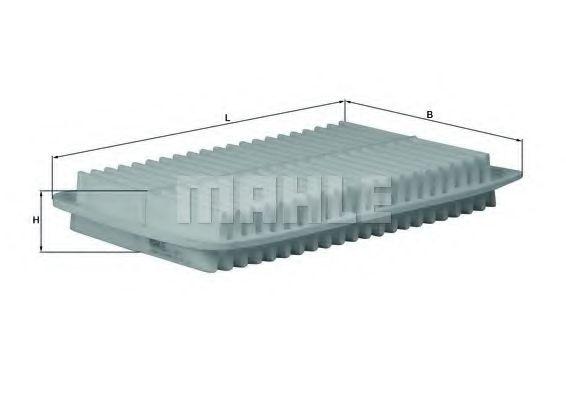 Фільтр повітряний KNECHT  LX1612