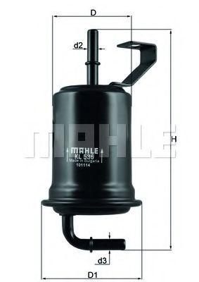Фільтр палива KNECHT KL536