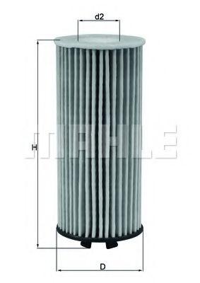 Масляный фильтр  арт. OX815D