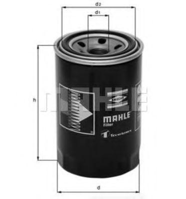 Фильтр масла Colt/Galant/Lancer IV/Pajero 1.8/2.0/2.5TD 86-  арт. OC274