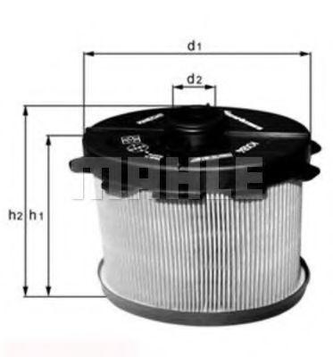 Топливный фильтр KNECHT KX84D