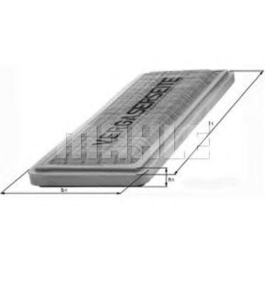Воздушный фильтр  арт. LX457
