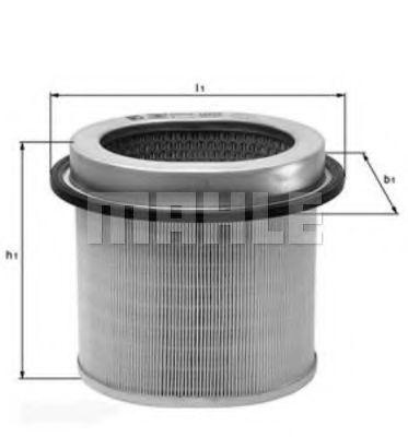 Воздушный фильтр  арт. LX670