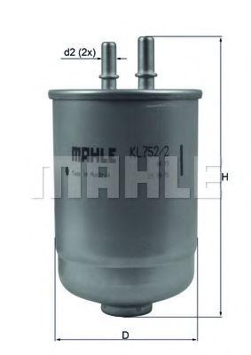 Фільтр палива KNECHT KL7522D