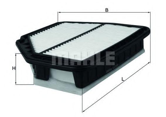 Воздушный фильтр  арт. LX3298