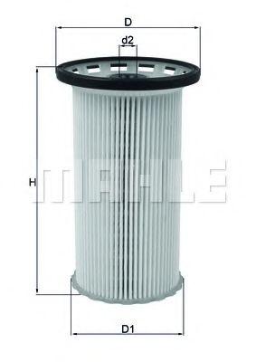 Топливный фильтр KNECHT KX386