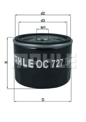 OC727     (KNECHT) !!заміна для OC471  арт. OC727