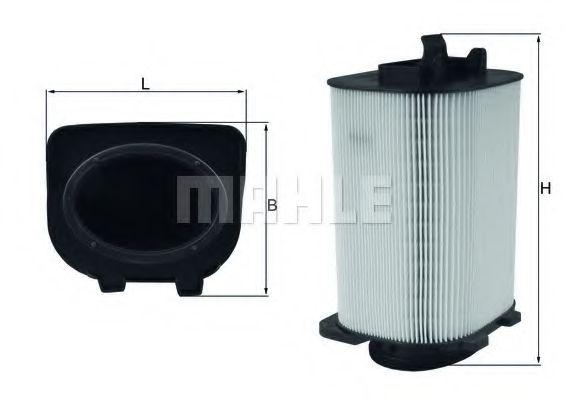 Фильтр воздушный MB C, E (180, 200, 250) 12- (пр-во Knecht-Mahle)                                     арт. LX3775