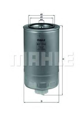 Фільтр палива KNECHT KC214