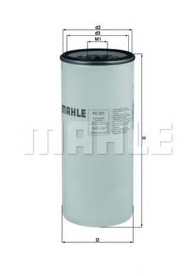 Фільтр палива KNECHT KC251