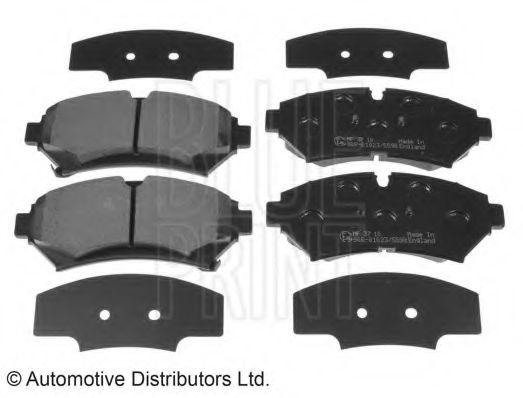 Комплект тормозных колодок, дисковый тормоз  арт. ADA104243